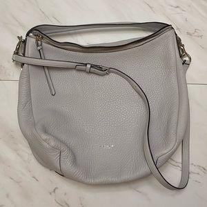 Gray hobo Coach purse